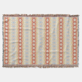 Ethnic bohemian style geometric pattern. throw blanket