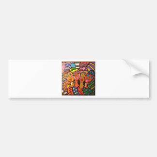 ethnic bumper sticker