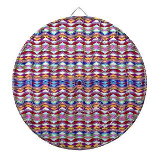 Ethnic Colorful Pattern Dartboard