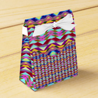 Ethnic Colorful Pattern Favour Box