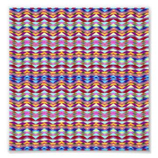 Ethnic Colorful Pattern Photo Print