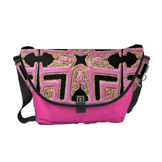 Ethnic Design Messenger Bag