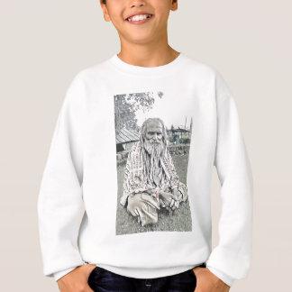 Ethnic design sweatshirt