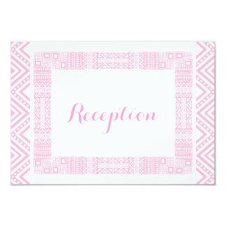 Ethnic Design Wedding Reception Cards #1 9 Cm X 13 Cm Invitation Card
