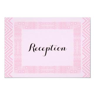 Ethnic Design Wedding Reception Cards #2 9 Cm X 13 Cm Invitation Card