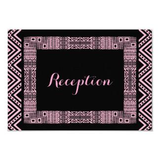 Ethnic Design Wedding Reception Cards #3 9 Cm X 13 Cm Invitation Card