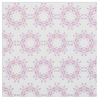 Ethnic floral manda pattern fabric
