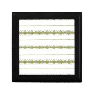 Ethnic Floral Stripes Gift Box