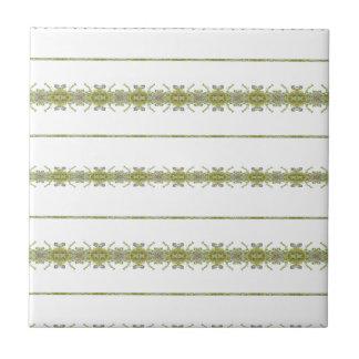 Ethnic Floral Stripes Tile