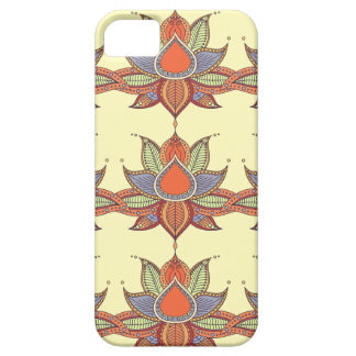 Ethnic flower lotus mandala ornament barely there iPhone 5 case