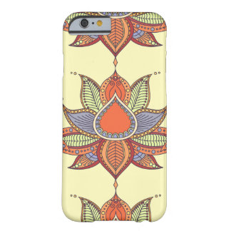 Ethnic flower lotus mandala ornament barely there iPhone 6 case