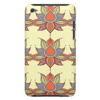 Ethnic flower lotus mandala ornament barely there iPod cover