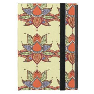 Ethnic flower lotus mandala ornament case for iPad mini