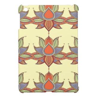 Ethnic flower lotus mandala ornament case for the iPad mini