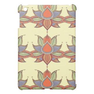 Ethnic flower lotus mandala ornament cover for the iPad mini