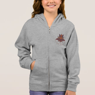 Ethnic flower lotus mandala ornament hoodie