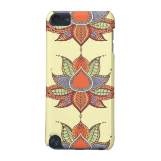 Ethnic flower lotus mandala ornament iPod touch 5G cases