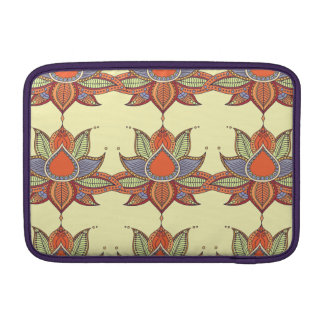 Ethnic flower lotus mandala ornament sleeve for MacBook air