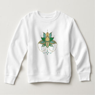 Ethnic flower lotus mandala ornament sweatshirt