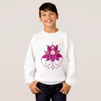 Ethnic flower lotus mandala ornament sweatshirt