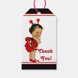 Ethnic Girl Ladybug Baby Shower