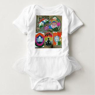 Ethnic Indian design Baby Bodysuit