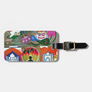 Ethnic Indian design Luggage Tag