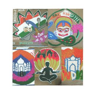 Ethnic Indian design Notepad