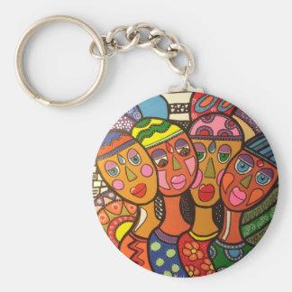 ethnic key ring