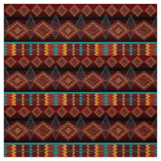 ethnic navajo seamless pattern fabric