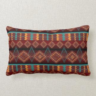 ethnic navajo southwestern  pattern lumbar cushion