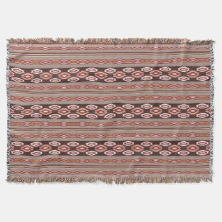 ethnic navajo southwestern pattern throw blanket