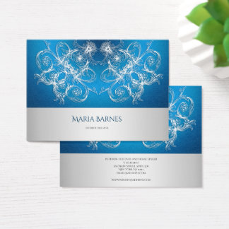 Ethnic Oriental Circle Ornament Business Card