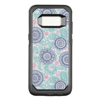 Ethnic Paisley Pattern OtterBox Commuter Samsung Galaxy S8 Case