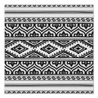 Ethnic Pattern Design 2 Poster
