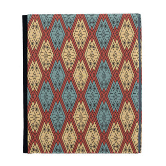 Ethnic Pattern - Summer Time iPad Case
