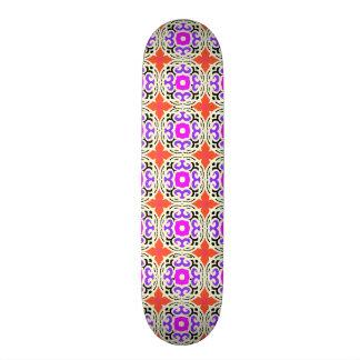 Ethnic Pattern with Moroccan Motifs Custom Skateboard
