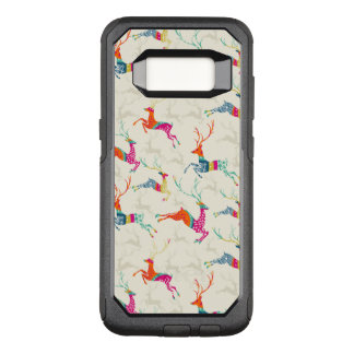 Ethnic Patterned Reindeer OtterBox Commuter Samsung Galaxy S8 Case