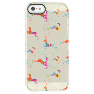 Ethnic Patterned Reindeer Permafrost® iPhone SE/5/5s Case