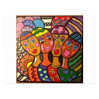 ethnic postcard