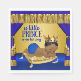 Ethnic Prince Baby Shower Paper Napkin