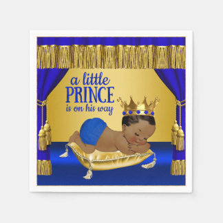 Ethnic Prince Baby Shower Paper Napkins Disposable Napkin