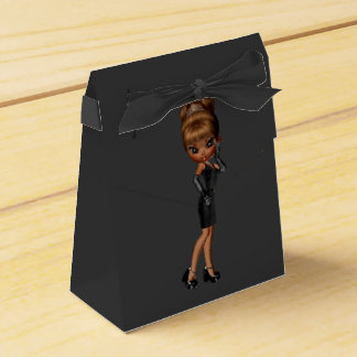 Ethnic Princess Diva Birthday Party Favour Box