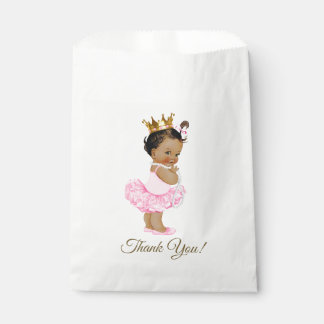 Ethnic Princess Tutu Ballerina Pearls Baby Shower Favour Bag
