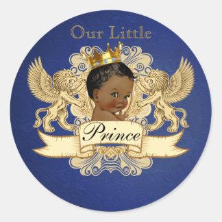 Ethnic Royal Prince favor sticker