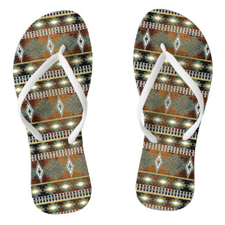 ethnic southwest navajo pattern thongs