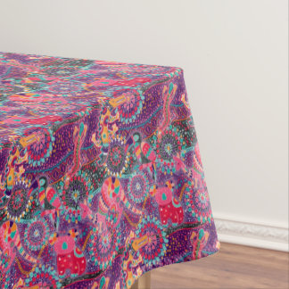 Ethnic Style Animal Pattern Tablecloth