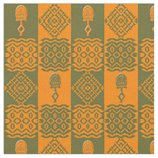 ethnic tribal african pattern fabric