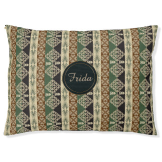 ethnic tribal african pattern pet bed