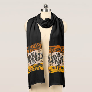 ethnic tribal african pattern scarf